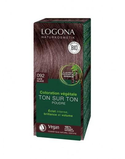 Natuurlijke Haarkleuring 092 Koffiebruin-Logona 100 g