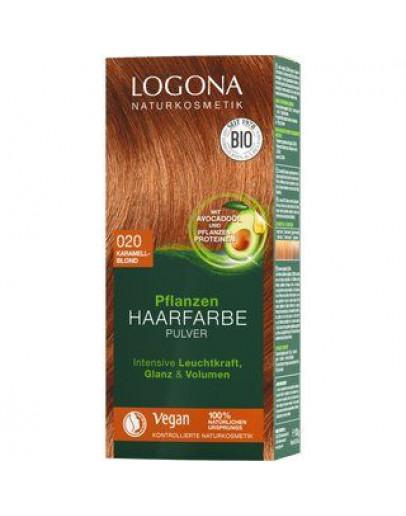 Natuurlijke Haarkleuring 020 Sahara-Logona 100 g