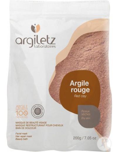 Rode klei ultra geventileerd 200 g-Argiletz -Alchemilla