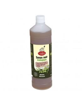 Zwarte zeep met olijfolie 1L-La Droguerie Écologique-Alchemilla