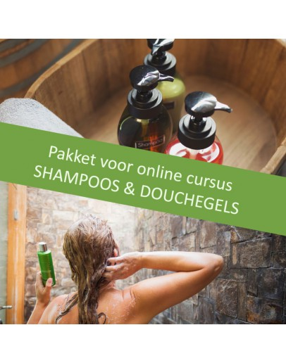Pakket grondstoffen DIY Shampoos en Douchegels-Alchemilla