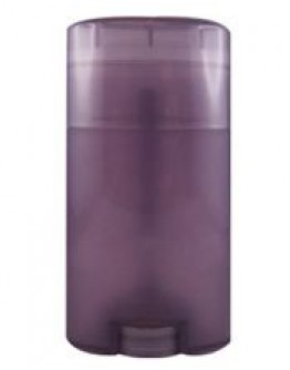 Deo stick PP violet transparant ovaal a 50 ml