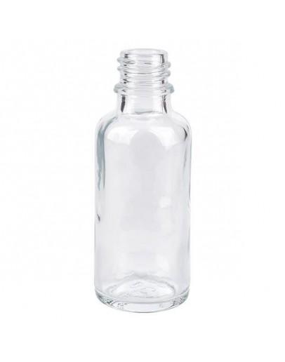 Fles glas helder 50 ml din 18-Herbacos