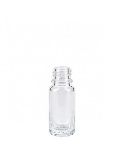 Fles glas helder 10 ml din 18-Herbacos
