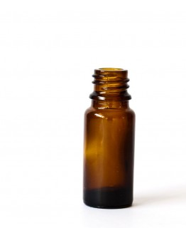 Fles glas bruin 10 ml din 18-Herbacos