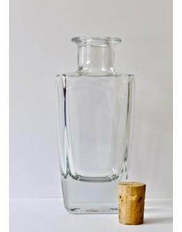 Fles glas fantasie 100 ml voor geurstokjes-Herbacos