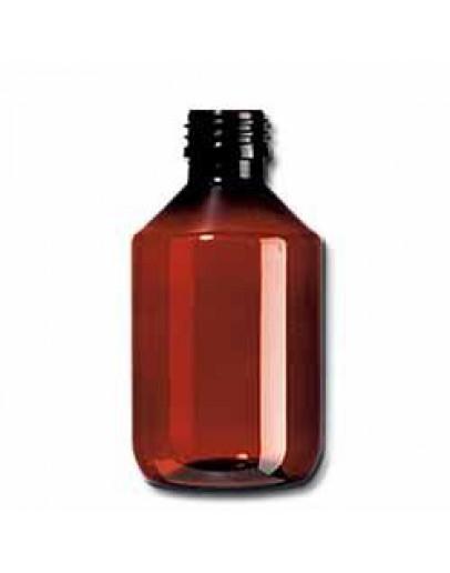Fles PET bruin 100 ml din 28-Herbacos