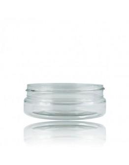 Crème pot BASIC PET Transparant a 50 ml