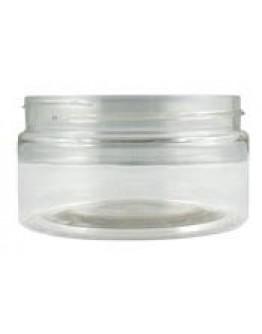 Crème pot BASIC PET transparant a 100 ml