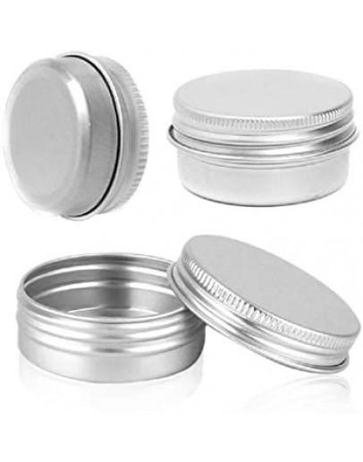 Pot aluminium met dop m 100 ml