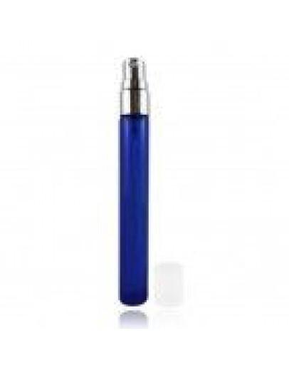 Verstuiver mini spray fles glas blauw a 10 ml