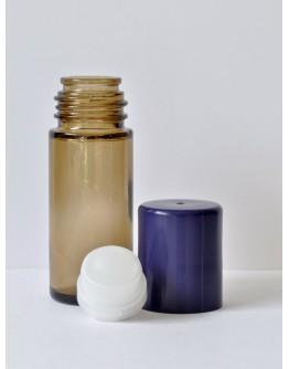 Deoroller glas bruin 30 ml-Herbacos