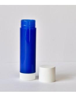 Lippenstifthuls blauw/wit-Herbacos