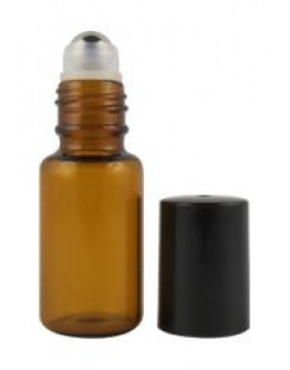 Roll-on fles roller glas amber a 5 ml