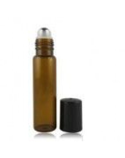 Roll-on roller fles glas amber a 15 ml