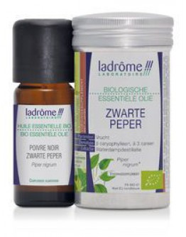Zwarte peper bio etherische olie-Ladrôme 10 ml