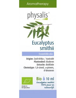 Eucalyptus smithii bio etherische olie-Physalis 10 ml