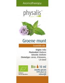 Groene munt bio etherische olie-Physalis 10 ml