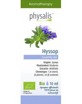 Hyssop bio etherische olie-Physalis 10 ml