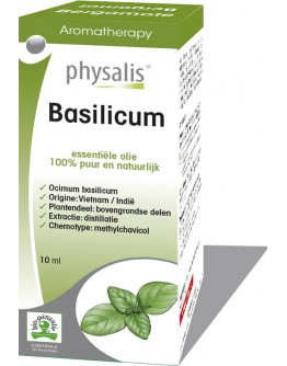 Basilicum methylchavicol bio etherische olie-Physalis 10 ml