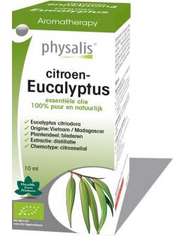Citroeneucalyptus eucalyptus citriodora bio etherische olie-Physalis 10 ml