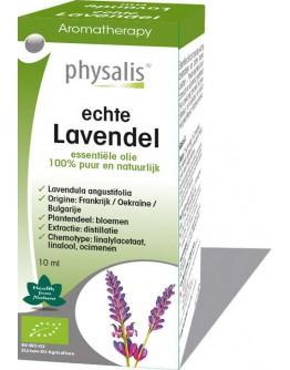 Lavendel echte bio etherische olie-Physalis 10 ml