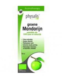 Groene mandarijn bio etherische olie-Physalis 10 ml