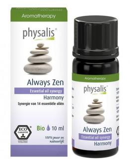 Synergie etherische olie Always Zen bio-Physalis 10 ml
