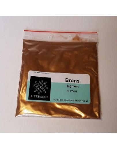 Parelmoer pigment koper-Herbacos 10 g