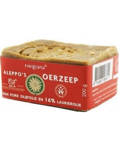 Aleppo oerzeep met olijfolie 16% laurierolie m