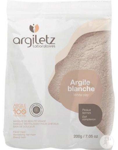 Witte klei ultra geventileerd poeder 200 g-Argiletz