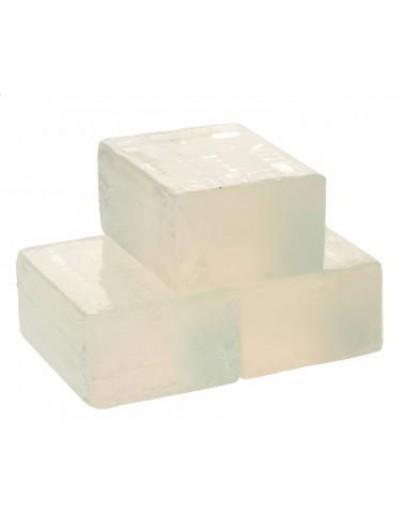 Glycerinezeep gietzeep transparant-Herbacos 500 g