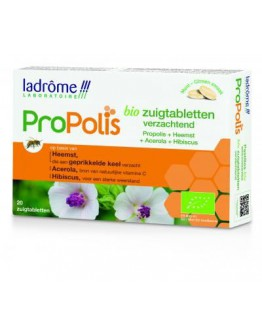 Propolis verzachtende zuigtabletten bio-Ladrôme