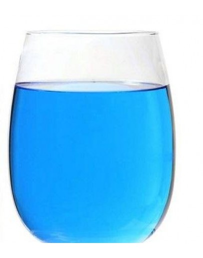 Vloeibare kleurstof blauw E131 wateroplosbaar-Herbacos 1000 ml