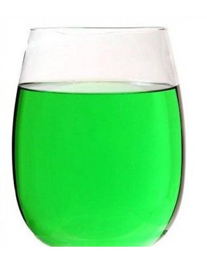 Vloeibare kleurstof groen E102/131 wateroplosbaar-Herbacos 10 ml