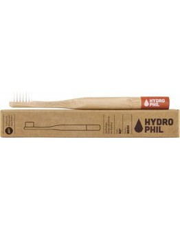 Kinder tandenborstel medium zacht (Rood mat)-Hydrophil