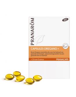 Capsules Oregano bio 30 caps-Pranarôm