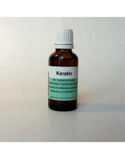 Keratine 20 % haarverzorgingsproduct-Herbacos 30 ml