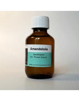 Amandelolie geraffineerd-Herbacos  100 ml