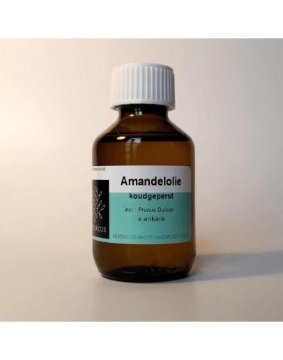 Amandelolie koudgeperst-Herbacos 100 ml