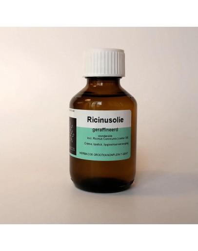 Ricinusolie wonderolie castoroil geraffineerd-Herbacos 250 ml