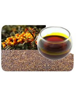 Duindoorn pit olie wildgroei koudgeperst-Herbacos 50 ml